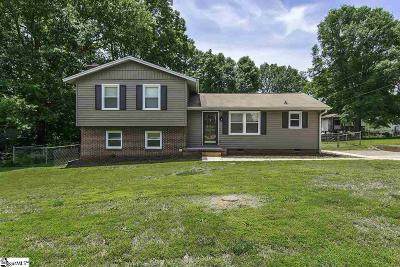 Simpsonville Single Family Home For Sale: 4 Chatwood