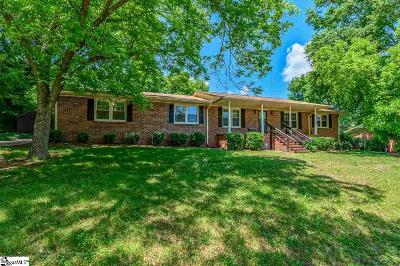 Anderson Single Family Home For Sale: 402 Woodfern
