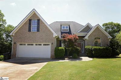 Greer Single Family Home For Sale: 618 Garden Rose