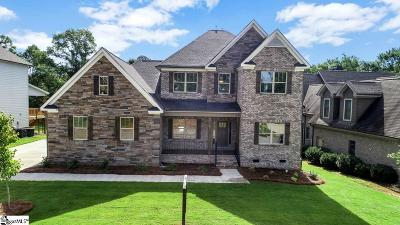 Greenville County Single Family Home For Sale: 27 Leafmore #Homesite