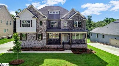 Simpsonville Single Family Home For Sale: 23 Leafmore #Homesite