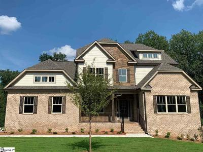Simpsonville Single Family Home For Sale: 35 Leafmore #Homesite