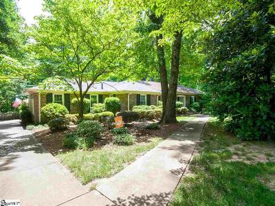 Simpsonville Single Family Home For Sale: 510 Lancelot