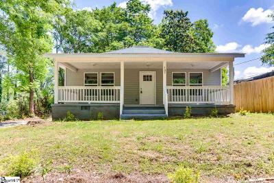 Easley Single Family Home For Sale: 109 N Third