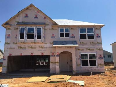 Simpsonville Single Family Home For Sale: 815 Camberwell #Lot 365
