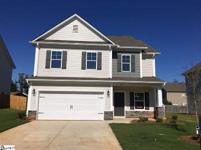 Simpsonville Single Family Home For Sale: 807 Camberwell #Lot 369