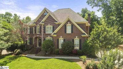 Simpsonville Single Family Home Contingency Contract: 9 Walnut Trace
