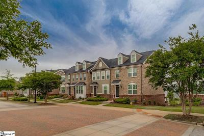Greenville Condo/Townhouse For Sale: 238 Rocky Slope