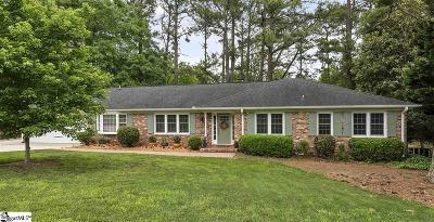 Spartanburg Single Family Home Contingency Contract: 606 Perrin