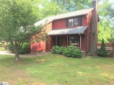 Taylors Single Family Home For Sale: 2 Mountain Fork