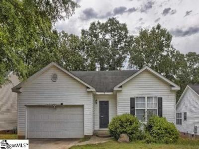 Greenville Single Family Home For Sale: 8 River Watch