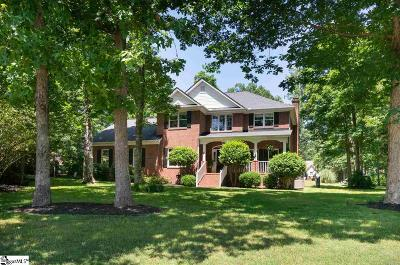 Taylors Single Family Home For Sale: 10 Clearwater
