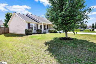 Simpsonville Single Family Home Contingency Contract: 14 Heatherfield