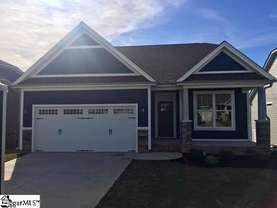 Simpsonville Single Family Home For Sale: 1105 Draycott #Lot 109