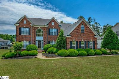 Simpsonville Single Family Home For Sale: 110 Carsons Pond