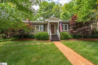 Greenville SC Single Family Home For Sale: $435,000