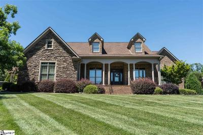 Spartanburg Single Family Home For Sale: 612 Breckenwood