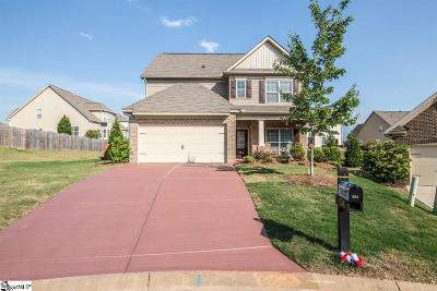 Simpsonville Single Family Home For Sale: 239 Heathbury