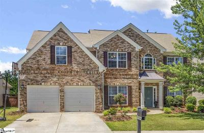 Simpsonville Single Family Home For Sale: 137 Heritage Point