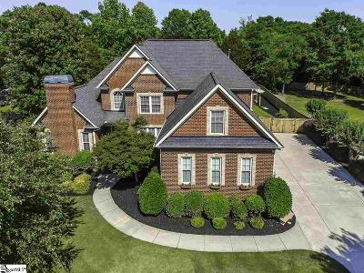 Simpsonville Single Family Home Contingency Contract: 300 Sycamore Ridge