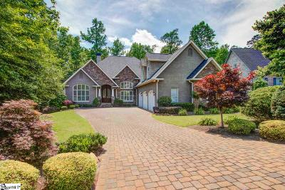 Greenville Single Family Home For Sale: 525 Foxcroft