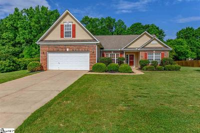 Greer Single Family Home For Sale: 754 Golden Tanager