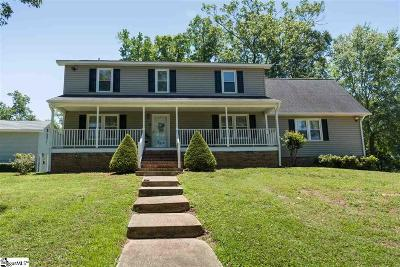 Inman Single Family Home For Sale: 266 Lake