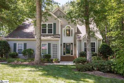Simpsonville Single Family Home Contingency Contract: 9 Indian Laurel