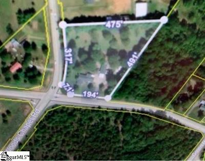 Greer Residential Lots & Land For Sale: 1105 Victor Hill