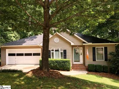 Simpsonville Single Family Home Contingency Contract: 218 Chickamauga
