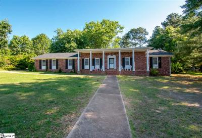 Greer Single Family Home For Sale: 106 Chestnut