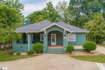 Greenville Single Family Home For Sale: 106 Grove
