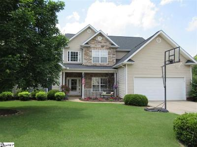 Greer Single Family Home For Sale: 605 Meadow Grove