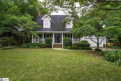 Greenville Single Family Home For Sale: 416 Hedgerow