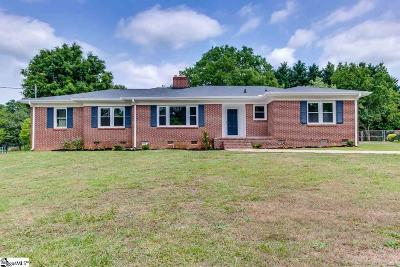 Greenville Single Family Home For Sale: 105 Gilstrap