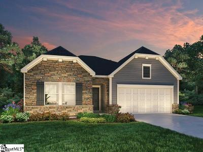 Simpsonville Single Family Home For Sale: 210 Bank Swallow