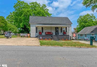 Easley Single Family Home For Sale: 109 S 7th