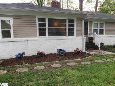 Greenville SC Single Family Home For Sale: $200,000