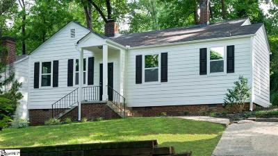 Greenville SC Single Family Home For Sale: $269,000