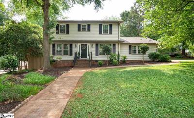 Greenville SC Single Family Home For Sale: $340,000