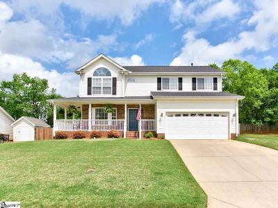 Greer Single Family Home Contingency Contract: 115 Steepleview