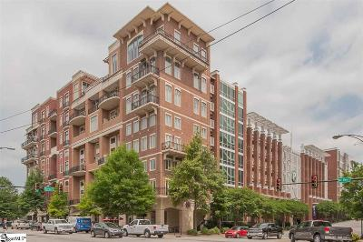 Greenville SC Condo/Townhouse For Sale: $798,500