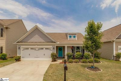 Simpsonville Single Family Home For Sale: 225 Riverdale