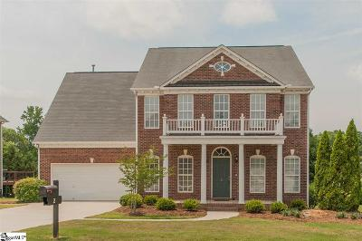 Simpsonville Single Family Home For Sale: 2 Cabrini