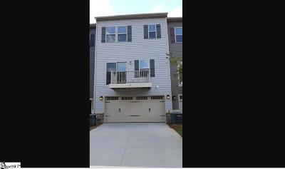 Greenville SC Condo/Townhouse For Sale: $285,990