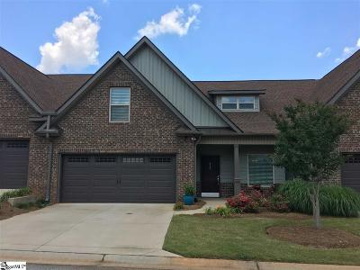 Simpsonville Condo/Townhouse For Sale: 812 Asheton Commons