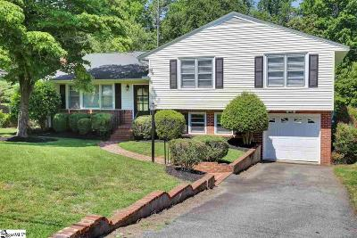 Greenville SC Single Family Home For Sale: $279,500