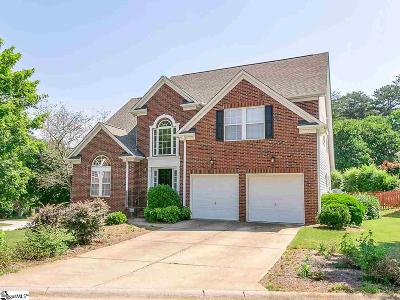 Greer Single Family Home For Sale: 1 Bentley