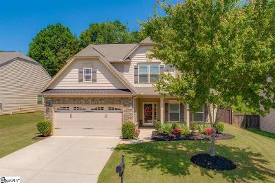 Simpsonville Single Family Home For Sale: 3 Bells Creek