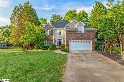 Simpsonville Single Family Home For Sale: 108 Thorn Hil